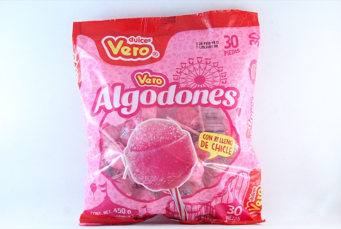 PALETA VERO ALGODONES 32/30 PZ