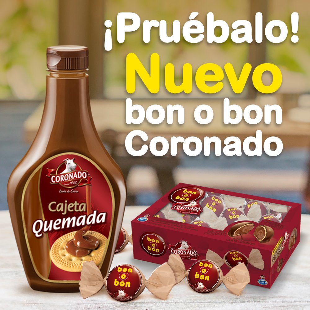 BON O BON CORONADO 12/18 PZ CT/12 PQ/18PZ