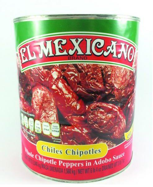 CHILE CHIPOTLE EL MEXICANO 6/2.8 KG CJ/6 PZ/2.8KG