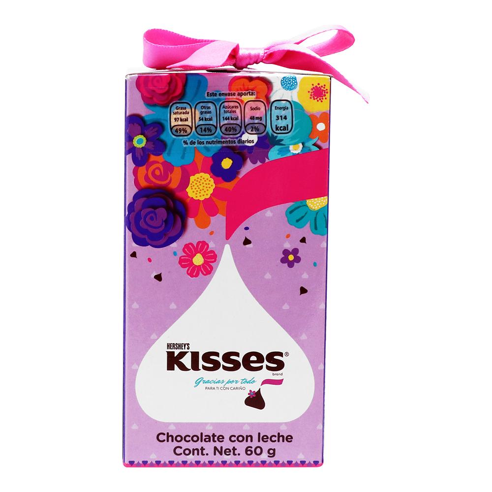 CHOCOLATE KISSES CARIÑO 60 GR 1/1 PZ