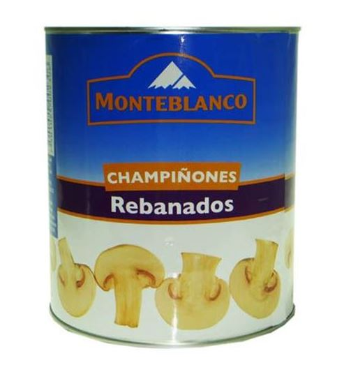 CHAMPIÑON REBANADO MONTEBLANCO 6/2.835 KG CT/6 PZ/2.835KG