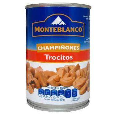 CHAMPIÑON TROCITOS MONTEBLANCO 12/380 GR CT/12 PZ/380GR