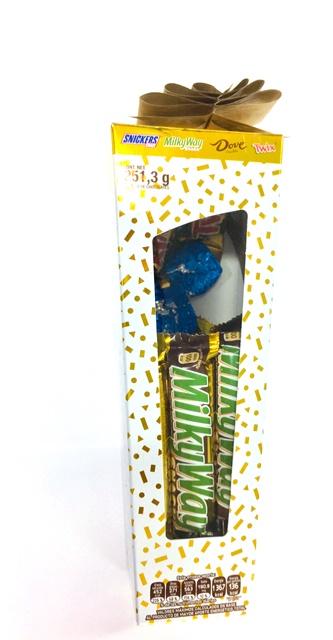 CHOCOLATE TALL BOX MIX 12/250 GR CJ/12 PZ/250GR