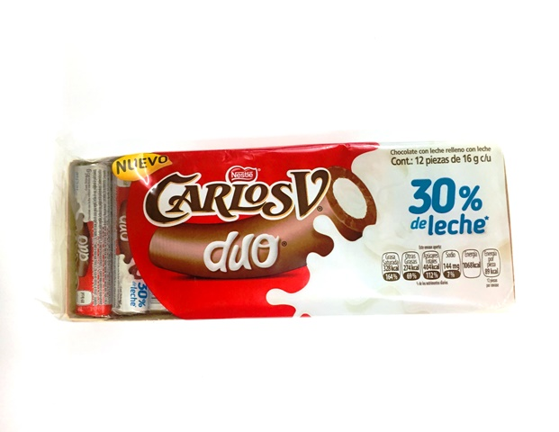 CHOCOLATE CARLOS V SUIZO DUO PACK 1/1 PZ