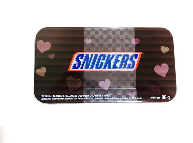 CHOCOLATE SNICKERS ESTUCHE 20/86 GR CT/20 PZ/86GR