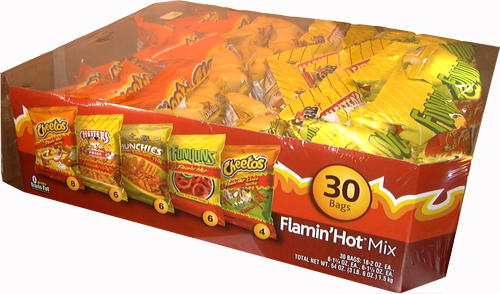 FLAMIN HOT PACK 730 GR 1/1 PQ