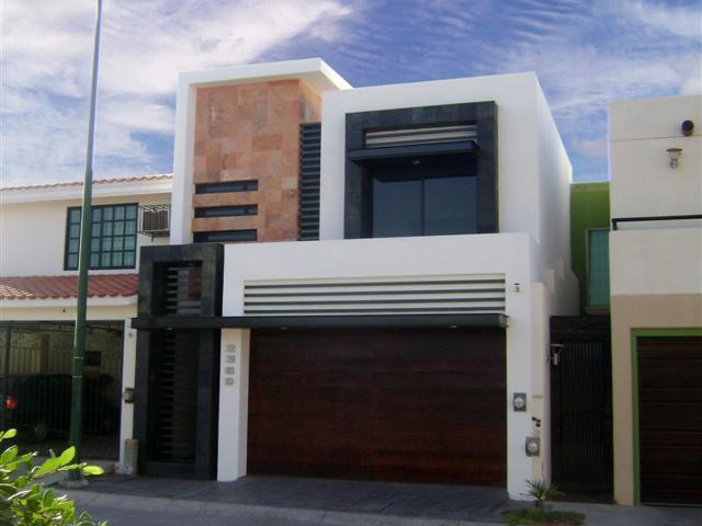 Estudio ii arquitectura proyectos for Fachadas de casas modernas pequenas de infonavit